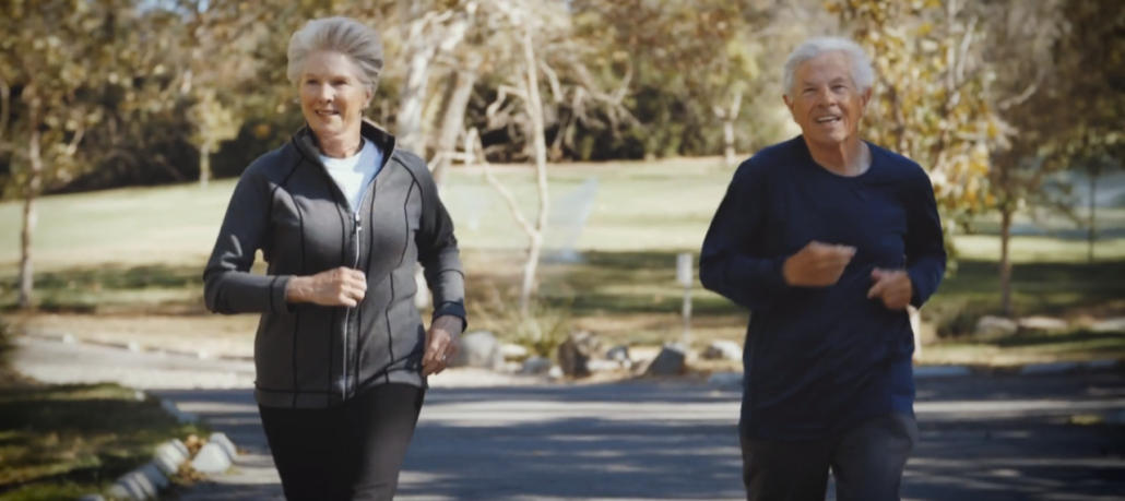 People with Parkinson's Exercising